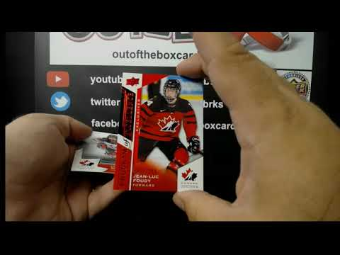 Out Of The Box Group Break #7748- 2020 Team Canada Juniors 4 BOX Hit Draft