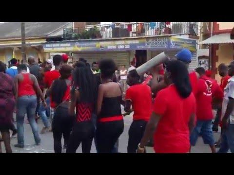 video 4    les deux dermiers jours du carnaval 2016 á Saint laurent du maroni
