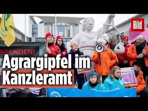 Merkel Trifft Bauern Zum Agrargipfel In Berlin