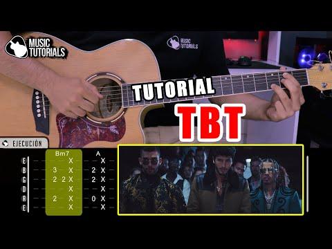 Cómo tocar TBT de Sebastian Yatra, Manuel Turizo, Rauw Alejandro en Guitarra (Tutorial + PDF GRATIS)