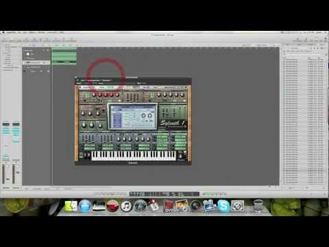 How to create a distorted dirty bassline sylenth logic studio electro complextro