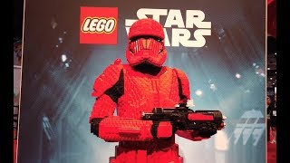 Sith Trooper Life-Size Model Interview - LEGO STAR WARS - LEGO Model Shop