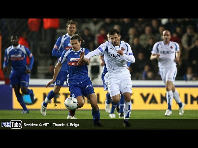 2007-2008 - Jupiler Pro League - 11. Racing Genk - Club Brugge 1-2