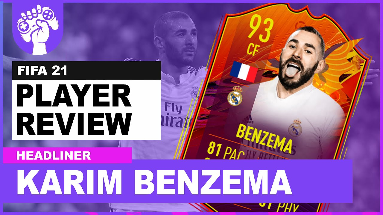 SO CHEAP, SO GOOD! | 93 RATED HEADLINERS KARIM BENZEMA | FIFA 21 Review
