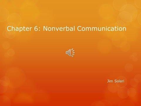 Interpersonal Communication Chapter 6