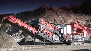 us440i mobile cone crusher