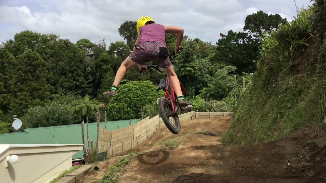 back yard dirt jump session deno astwood youtube