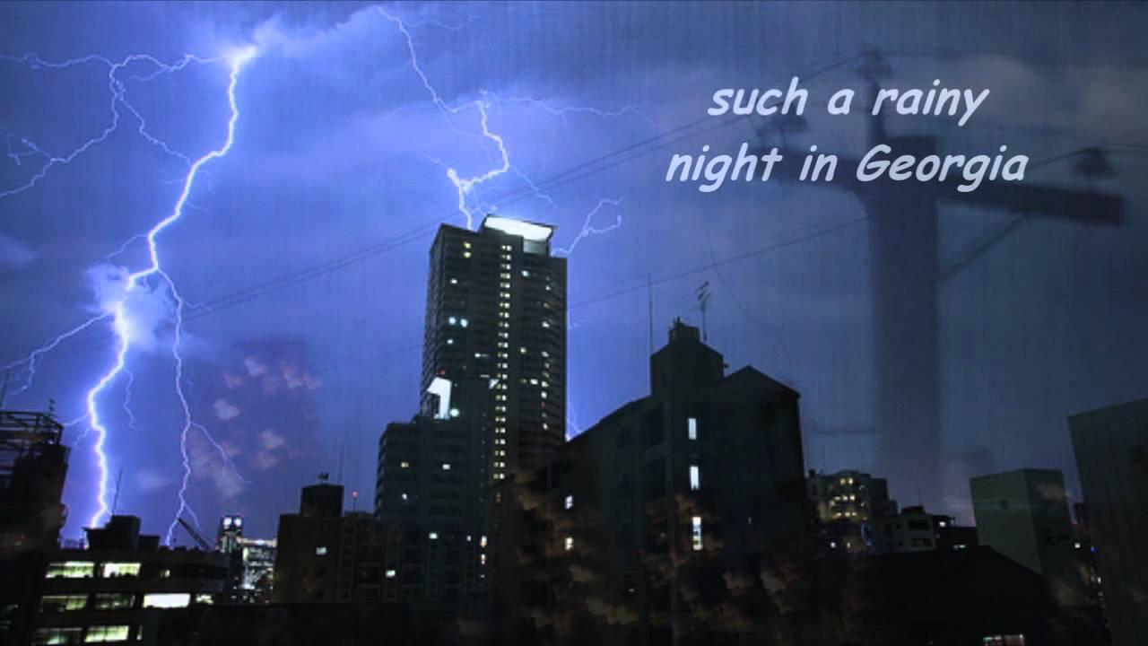 Rainy Night in Georgia - Lyrics - Brook Benton - YouTube   1280 x 720 jpeg 56kB