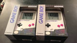 Paladone [ Game Boy Alarm Clock ] - Official Nintendo Licensed Product | Unboxing And Review - MrMaD