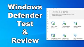 Windows Defender Antivirus Test & Review 2020 - Antivirus Security Review - High Level Test
