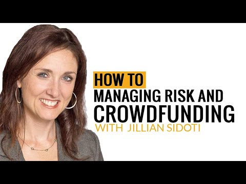 Episode 15: Jillian Sidoti – Managing Risk and Crowdfunding