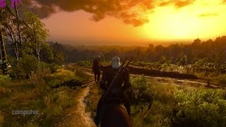 The Witcher 3 PC Gameplay Preview | Performance Ultra Detail