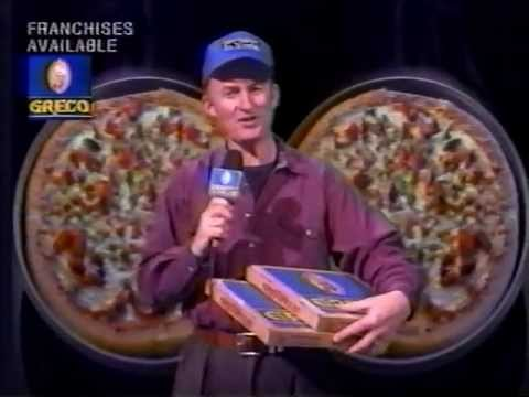 Greco Pizza Commercial 1995