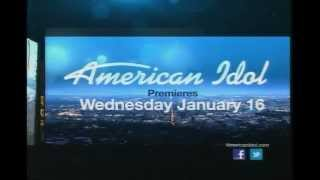 FOX American Idol Season 12 Promo 1/16/13