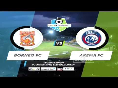 Borneo FC vs Arema FC: 3-2 All Goals & Highlights - Liga 1