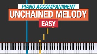 The Righteous Brothers - Unchained Melody - Piano Tutorial