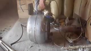 Evde Sanayi Tipi Basınçlı Hava Kompresörü Yapımı