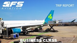 TRIP REPORT | Aer Lingus - A330 300 - New York (JFK) to Dublin (DUB) | Business Class