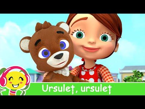 Ursulet, ursulet, prietenul meu  Cantec pentru copii | CanteceGradinita – Cantece pentru copii in limba romana