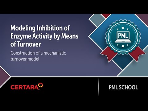 PML School: Modeling Inhibition of Enzyme Activity by Means of Turnover Construction