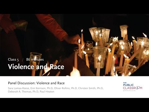 Public Classroom 5: Violence and Race - Panel Discussion