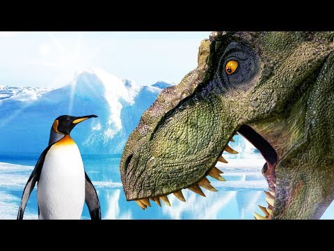 T-REX VS PENGUIN??