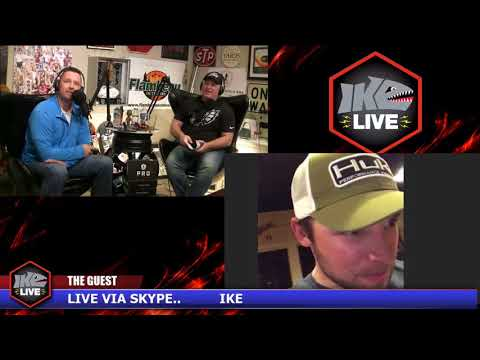 James Elam, Justin Lucas and Brandon Palaniuk on Ike Live