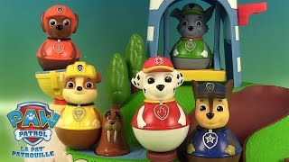 Pat' Patrouille Weebles L'Ile des Phoques Paw Patrol Weebles Pull & Play Seal Island