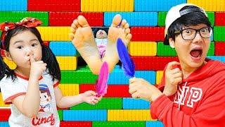 Boram et les histoires des enfants sur les magnifiques maisons de jouets