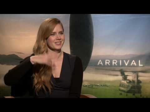 Interview: Amy Adams talks about Arrival & talking to aliens.