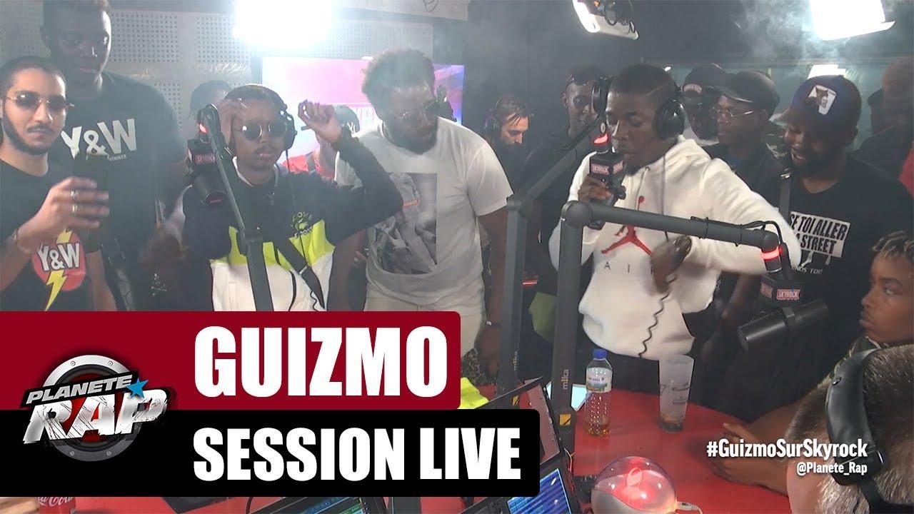 Session live Guizmo, Igor LDT & Junior Bvndo #PlanèteRap
