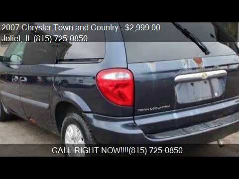 2007 Chrysler Town And Country Cargo Van For Sale In Joliet Youtube