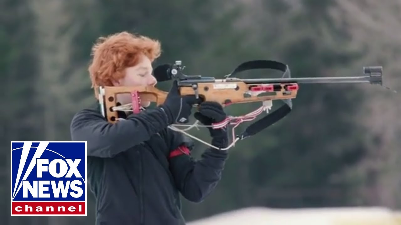 Winter Olympics: Anatomy of a .22 Biathlon rifle - YouTube