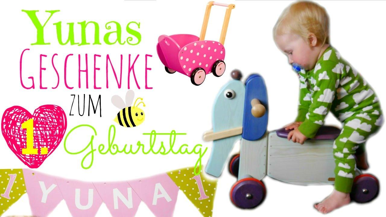 Geschenke Zum 1 Geburtstag  Yuna Wird 1!  Rutschtier