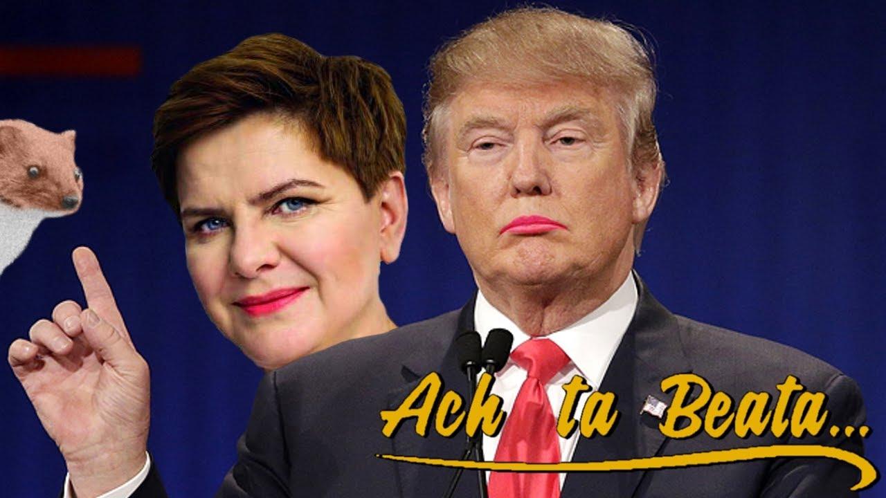 Ach ta Beata – Donald Trump B-pop