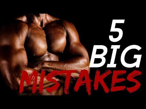 5 Reasons You're Not Gaining Muscle Mass