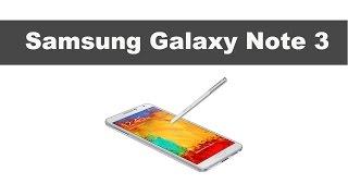 Обзор телефона Samsung Galaxy Note 3 N900(http://video-shoper.ru/catalog/samsung_phone.html Samsung Galaxy Note 3 необычный android смартфон. В нем мощная начинка: камера в 13 Мгп и 2 ..., 2013-10-31T12:33:16.000Z)