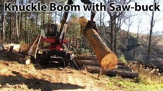Cool Knuckle Boom With Sawbuck - Tim Glenn