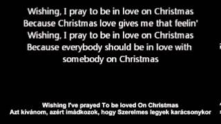 Nsync In love on xmas with english lyrics magyarul