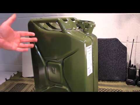 Discussion about Fuel Storage (Great deal on genuine NATO Jerry Cans)