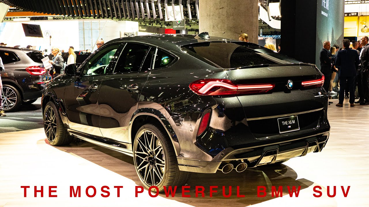 2020 Bmw X6 M Competition Review Youtube