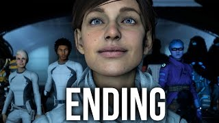 MASS EFFECT ANDROMEDA ENDING Walkthrough Part 22 (Female) Full Game