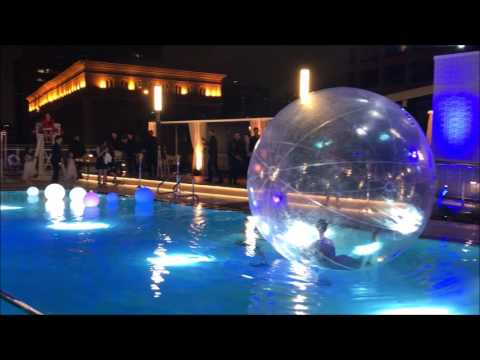 InterContinental Los Angeles Downtown opening party, Wilshire Grand Center