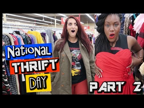 National Thrift Day at SAVERS Part 2| Come Thrifting With Us|#ThriftersAnonymous