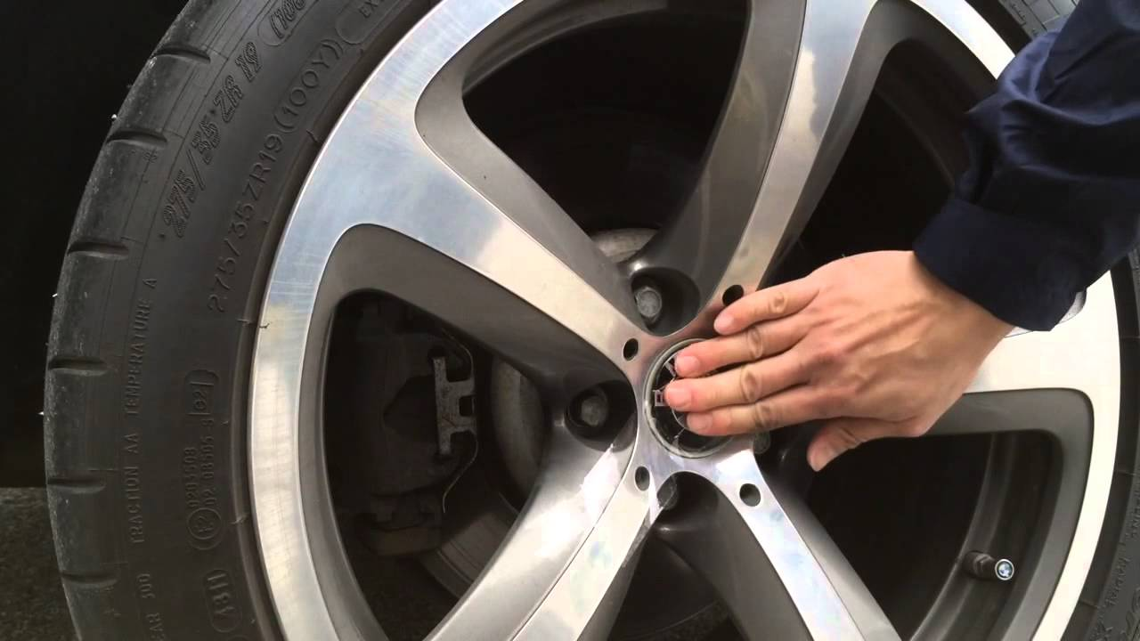 Removal Of Bmw Wheel Center Cap Youtube