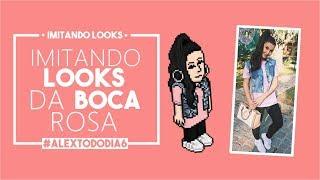 IMITANDO LOOKS • BOCA ROSA • HABBO • #AlexTodoDia6