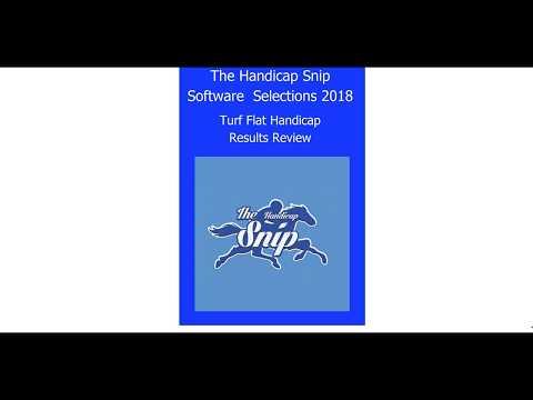 Handicap Snip Betting Software Results 2018