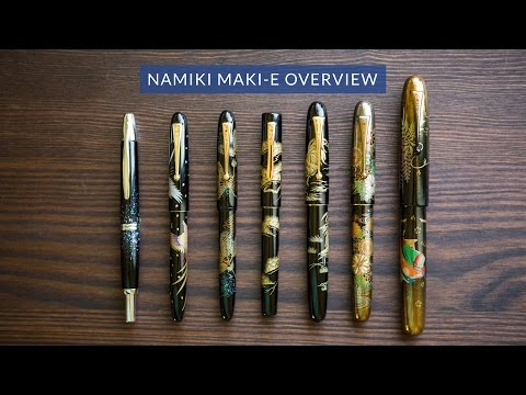 Namiki Maki-e Fountain Pen Overview