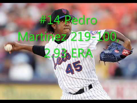 top 20 mlb pitchers of all time youtube