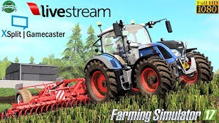 Farming Simulator 17   LIVE Streaming by #Gaming Evolved 1080p
